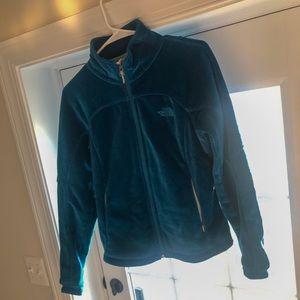 Fleece north face jacket